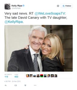 Kelly Ripa tweet