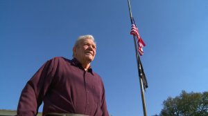 """Floyd """"Bud"""" Walker, a World War II veteran, remembers Pearl Harbor and sees the similarities to today."""
