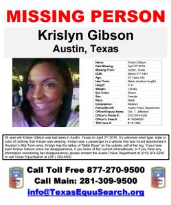 Krislyn Gibson Flyer