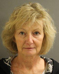Mugshot of Elaine Yates after her arrest in January 2017.