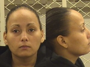 Larissa Rodriguez, the mother of a 5-year-old boy who was found buried in his backyard in Cleveland.