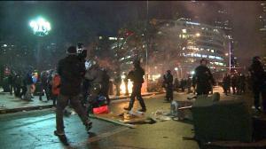 Occupy Denver fire