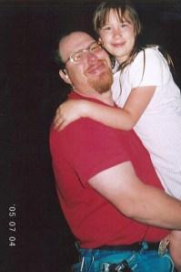 Alan Dilley, daughter