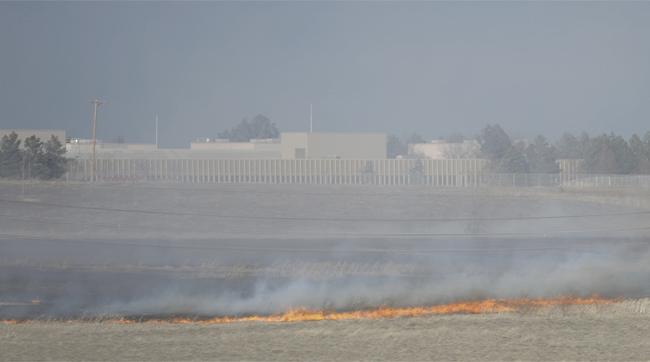 Boulder Grass Fire
