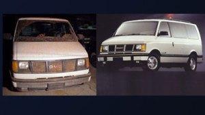 Van suspected in hit-and-run