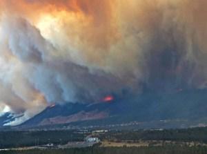 Waldo Canyon Fire nears AF Academy
