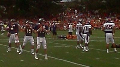 Broncos training camp. Aug. 6, 2012. Photo by: Hank Siegel