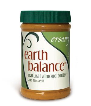Earth Balance's almond butter (EarthBalance.com)