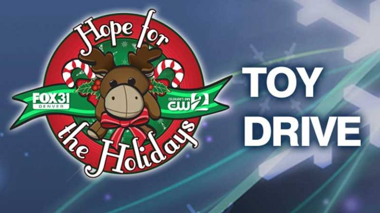 Join FOX31 Denver for our Hope for the Holidays Toy Drive on Dec. 8.