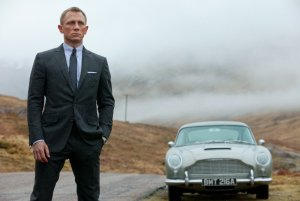 """Skyfall"" is one of the films in the running at the Baftas. (Credit: CNN)"