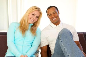 Golfing great Tiger Woods and champion skiier Lindsey Vonn confirmed on Facebook Monday that the two are dating. (Credit: CNN)