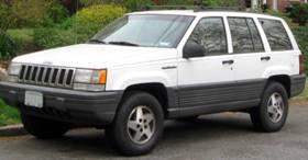 White Jeep Cherokee