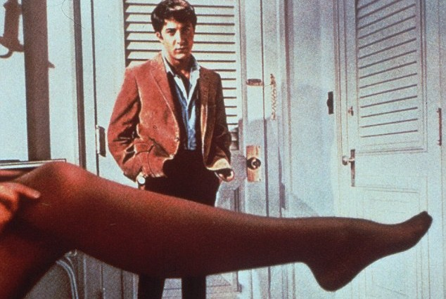 "Perhaps unsurprisingly, the relationship depicted in the classic film ""The Graduate"" is rare in real life, the study says. (Credit: Wikipedia Commons/ StudioCanal)"