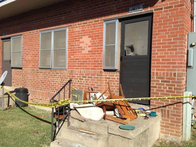 Anderson's Oklahoma City apartment. (Photo: KFOR)
