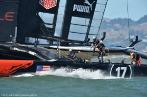 ORACLE TEAM USA won the 34th America's Cup in a winner-take-all 19th race. The team's victory marks one of the most improbable comebacks in the history of sport.