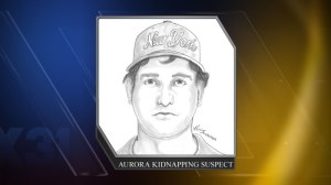 Aurora kidnapping suspect composite sketch