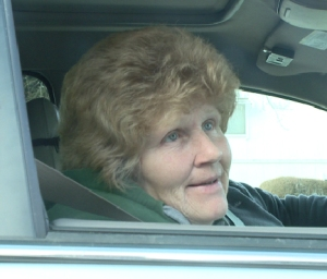 This woman, who refused to give her name, was taken hostage by a man at a Denver 7-Eleven.