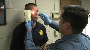 Officers undergo drug recognition training