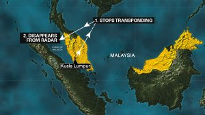 The Malaysian Air Force has traced the last known location of Malaysia Airlines flight 370 to Pulau Perak, a very small island in the Straits of Malacca, according to a senior Malaysian Air Force official.