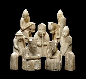 These delicate chess pieces give an insight into a more thoughtful Viking, rather than the stereotypical image of barbaric warrior. (Credit: CNN)