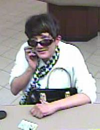 Police identified this woman as a third suspect in the hospital robberies on March 25 and 26, 2014. (Photo: Metro Denver Crime Stoppers)