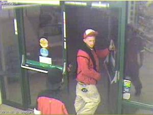 The man pictured above is the suspect in a 7-Eleven robbery on May 13, 2014. (Photo: DPD)