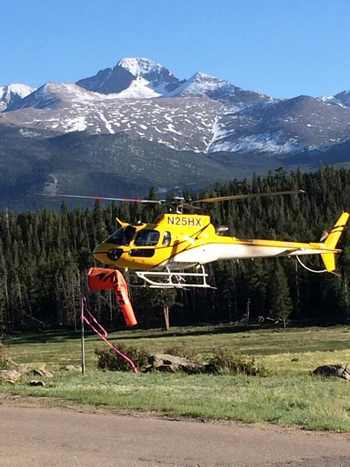 Helicopter flies rescuers off Longs Peak after teenager was rescued