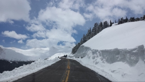 CDOT crews will open a portion of Mount Evans Road on Friday, May 23, 2014. (Credit: CDOT)