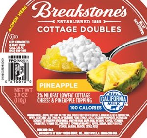 Kraft is recalling 1.2 million cases of cottage cheese that could spoil prematurely and cause illness. The recall, announced Saturday, includes the Knudsen, Breakstone, Simply Kraft and Daily Chef brands. (Photo: FDA)