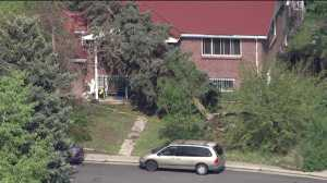A tree fell into a home near 32nd Place and Carson Street in Aurora.