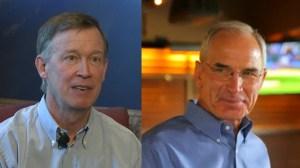 Colorado Gov. John Hickenlooper, a Democrat, faces Republican Bob Beauprez this fall.
