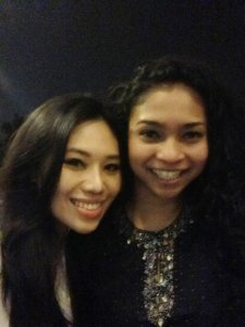 Shazana Salleh (right) was one of 15 crew members onboard Malaysia Airlines flight 17 (MH17) when it crashed in Ukraine Thursday, July 17, 2014.