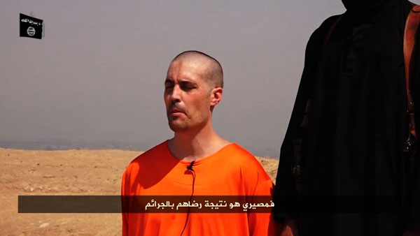 A video released by ISIS shows the beheading of American journalist James Foley, who disappeared in November 2012 in Syria.