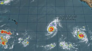 Hurricane Iselle and Tropical Storm Julio.