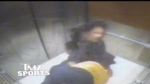 TMZ obtained surveillance video of Baltimore Ravens running back Ray Rice knocking out his then-fiancee Janay Palmer with a single blow before carrying her limp body out of an elevator.