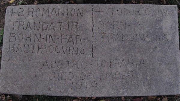 Fodor Glava's headstone in the Lafayette Municipal Cemetery (Credit: FindAGrave.com / MsTreeMaker)