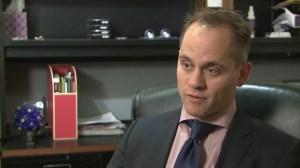 Benjamin Hartford, Levi Frasier's attorney.