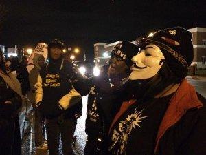 Protestors in Ferguson, MO call for the indictment of Darren Wilson. Photo credit: Moni Basu/CNN
