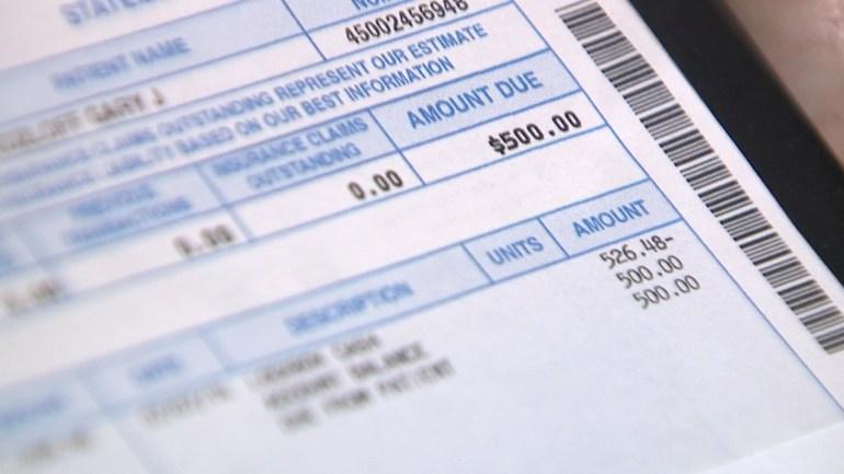 Gary Kozloff's hospital bill