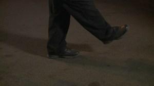 Field sobriety test: One leg stand