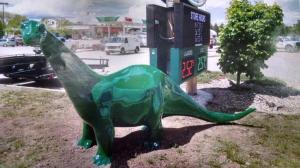 Dino the missing dinosaur from