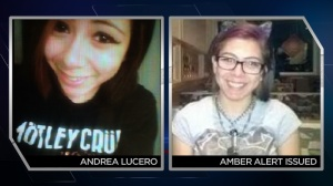 An Amber Alert was issued for 16-year-old Andrea Lucero from New Mexico. (Photo: DPD)