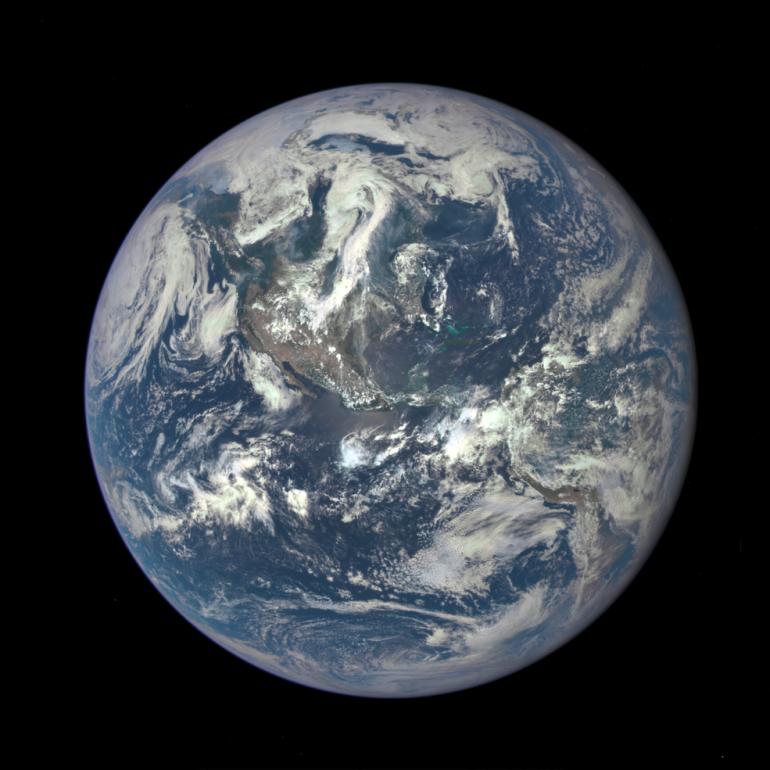 New image of earth. July 20, 2015. Photo credit: NASA