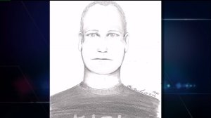 Sketch of suspect wanted for attacks on two women in Loveland