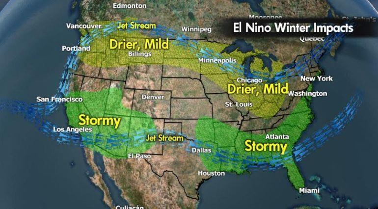 El Niño 2015 Winter Impacts.
