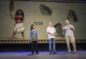 Moana will be the first Polynesian Disney princess. (Photo: Disney, D23 Expo)