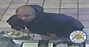 Suspect in robberies in Aurora. Photo: Aurora Police