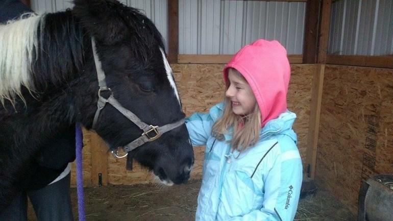 Hayden Ratliff happy to be reunited with her pony