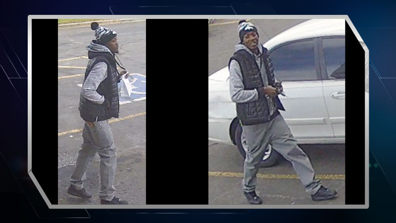 The FBI's Rocky Mountain Safe Streets Task Force has released these new pictures of Myloh Mason walking around town.