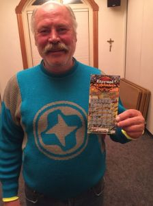 Michael Engfors, a homeless man in Aspen, won $500,000 on a lottery scratch-off ticket. (Photo: Jeremy Kowalis/Aspen Homeless Shelter)